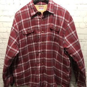 Wrangler Sherpa Lined Shirt Jacket